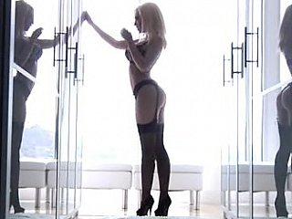 Kagney Linn Karter posing & fucking