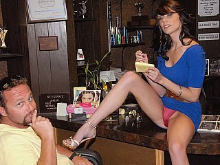 Long legged Trophy store MILF