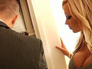 Busty blonde bitch Nikki Benz