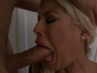 Sexy Bridgette B gets it deep inside her mouth