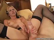 Lustful Mom Teasing A Cock