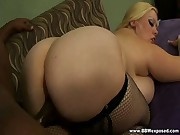 Fat Blonde Whore Gets Banged