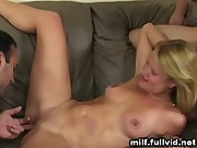 Two Dudes Sharing Milf