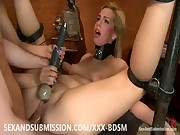 Slapping blonde babe gets complete satisfaction in the ass