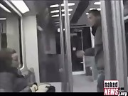 A Russian Dude Gets Pantsed on the Subway and Taught a Lesson, p