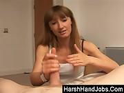 Harsh Handjob from my girlfriend