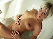 Megan morning bathroom