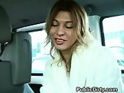 Blowjob In Car In Public