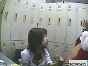 Shoplifting girl punishment