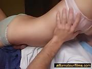 Real hot amateur couple homevideo scene
