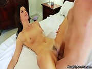 India Summer loves to fuck young cocks