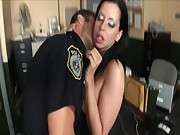 Secretary banged in the boss room