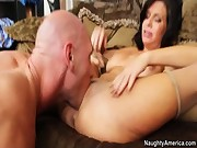 Veronica Avluv , Johnny Sins in Seduced by a cougar