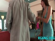Gals have nice group sex
