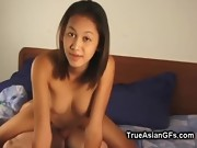 Sexy Asian Beauty Banged Hard in Bed