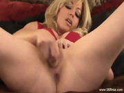 Squirt For Me You Blonde MILF Slut Wife