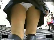 Hidden Camera Have a Look at Underpants