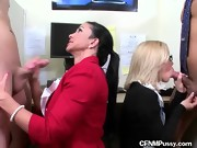 Office Ladies Suck The Cocks Of Low Performers