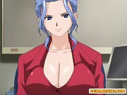 Shemale hentai self masturbation