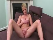 20yo horny blondie sexing on ottoman