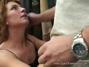 Older Dutch Woman Fucked Hard With Big Cumshot