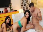 Missy Martinez , Romi Rain , Mr. Pete in My Girlfriend's Bu