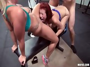 Orgy At The Gym