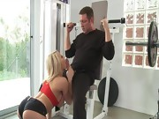 Madison Ivy is one hot fitness trainer