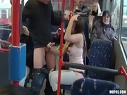 Public Sex City Bus Footage