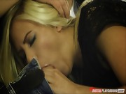 BiBi Jones gets him off to get rid of him